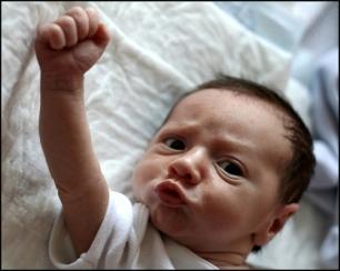 fist pump baby
