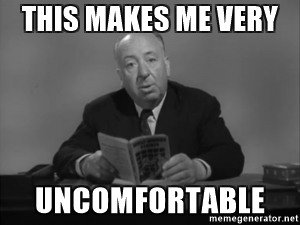 HITCH UNCOMFORTABLE